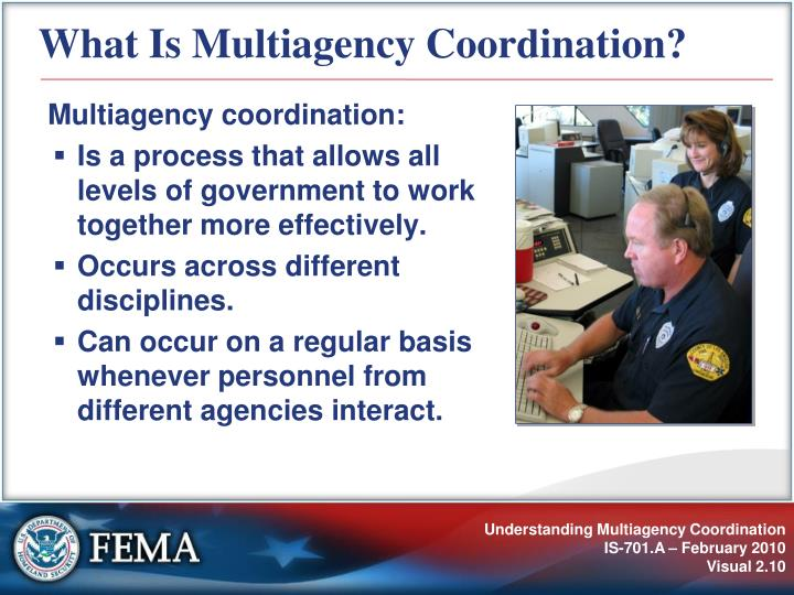 What Is Multiagency Coordination?