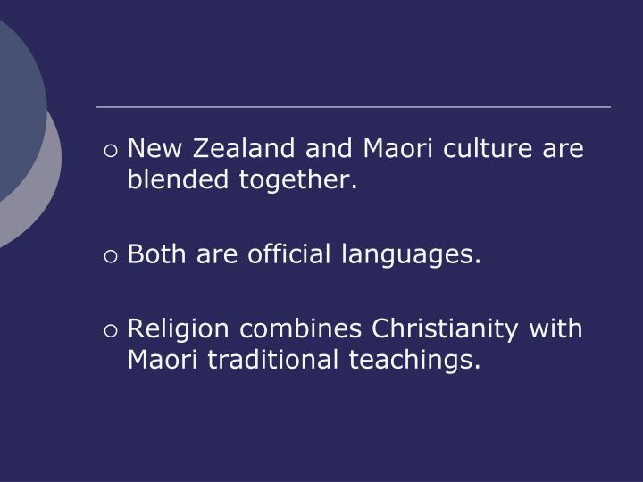 New Zealand and Maori culture are blended together.
