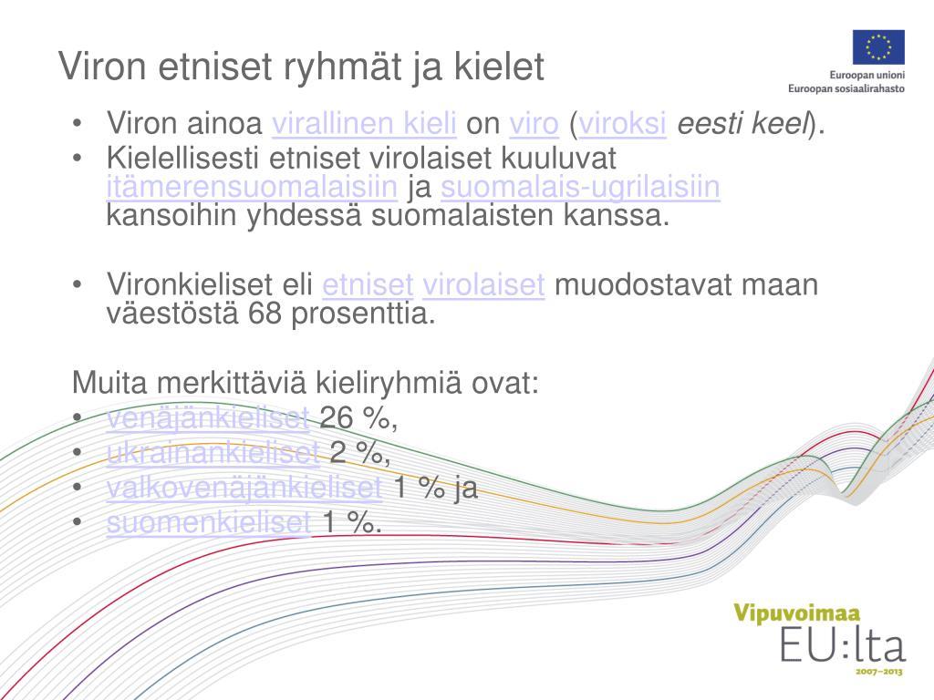 Ppt Virolaiset Kulttuurit Powerpoint Presentation Free Download