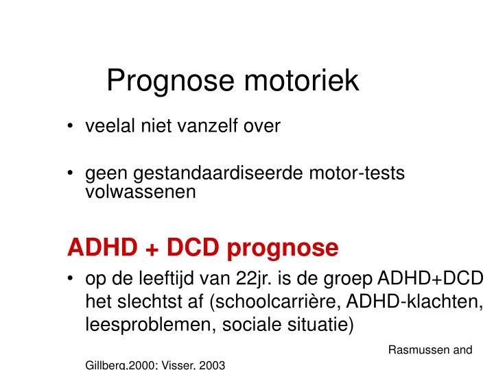 Prognose motoriek