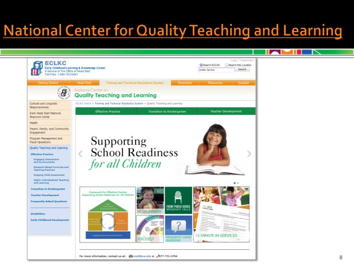 National Center on Quality