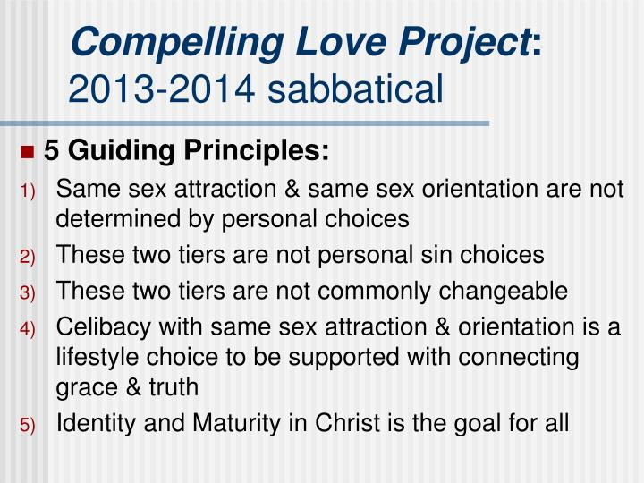 Compelling Love Project