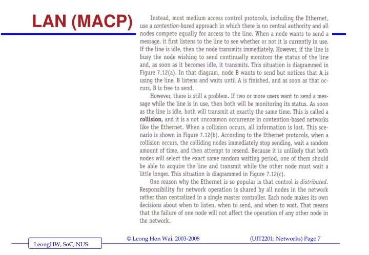 LAN (MACP)