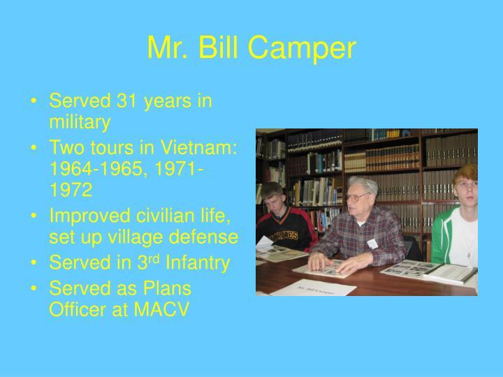 Mr bill camper
