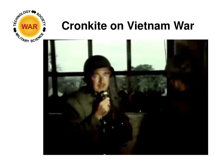 Cronkite on Vietnam War