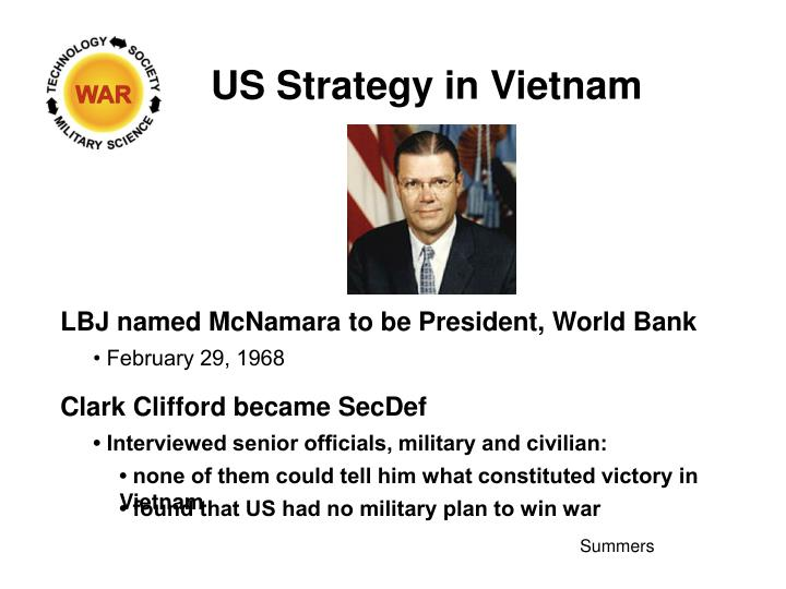 US Strategy in Vietnam