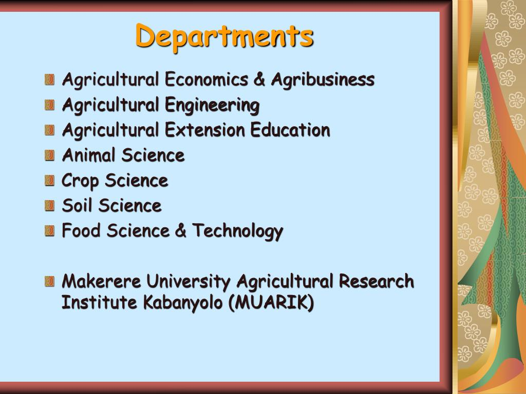 PPT - RESERCH METHODS COURSES AT MAKERERE UNIVERSITY