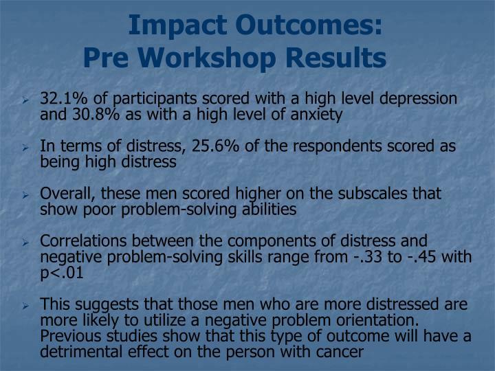 Impact Outcomes:
