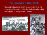 the freedom rides 1965