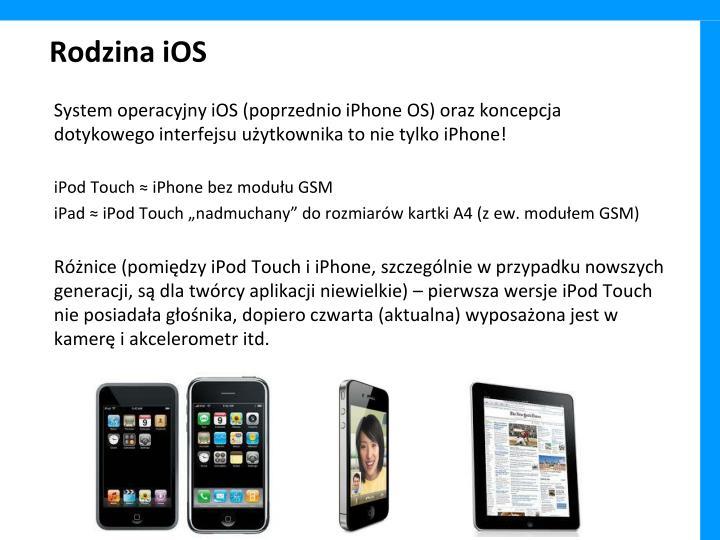 Rodzina iOS