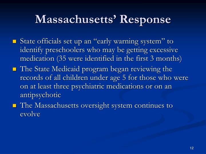 Massachusetts' Response