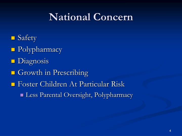 National Concern