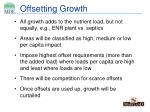 offsetting growth