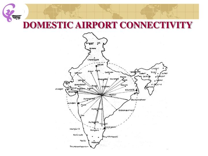 DOMESTIC AIRPORT CONNECTIVITY