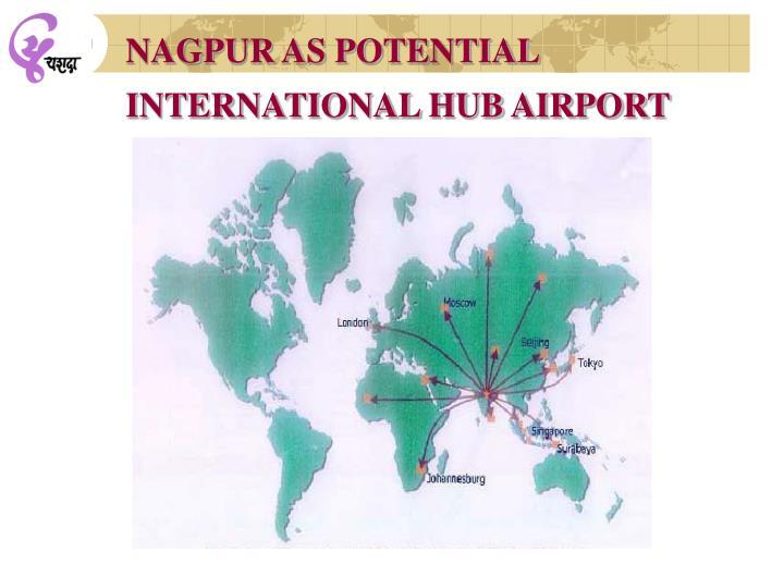 NAGPUR AS POTENTIAL INTERNATIONAL HUB AIRPORT