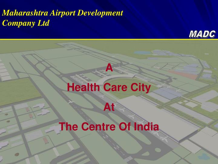 Maharashtra Airport Development Company Ltd