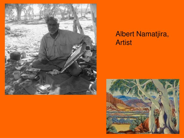 Albert Namatjira,