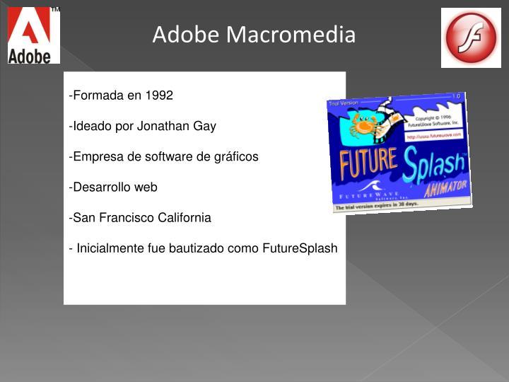 Adobe Macromedia