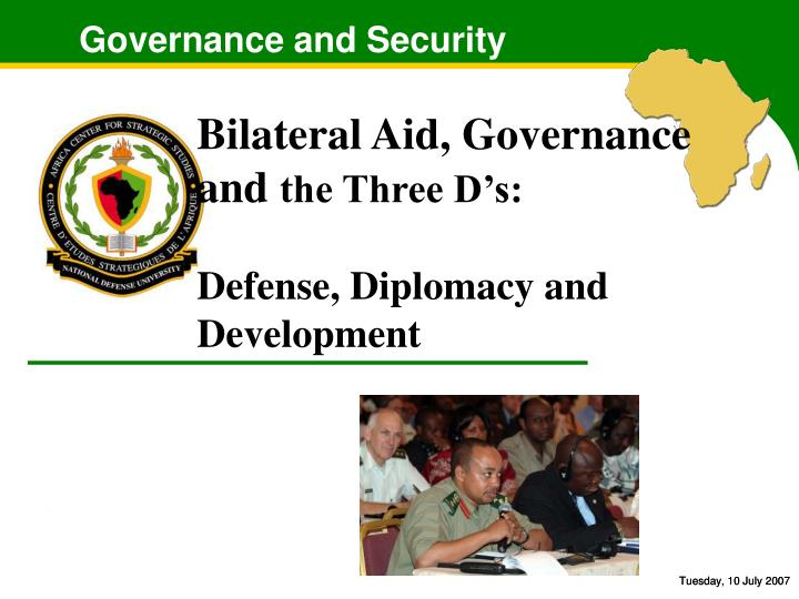 Governance and security