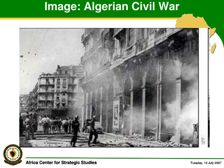 Image: Algerian Civil War