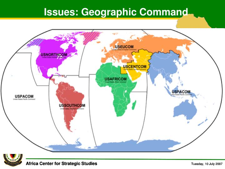 Issues: Geographic Command