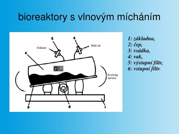 bioreaktory s vlnovým mícháním