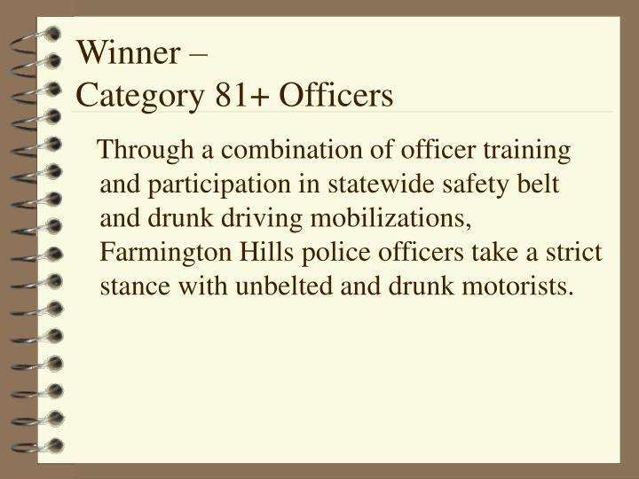 Winner –