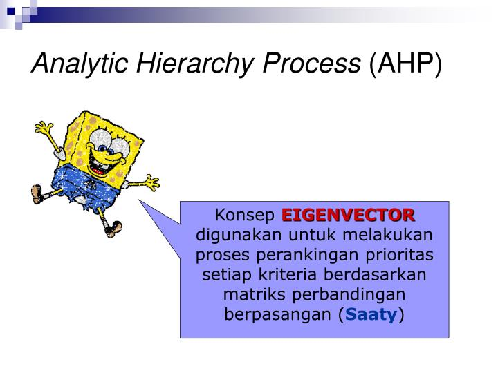 Analytic Hierarchy Process