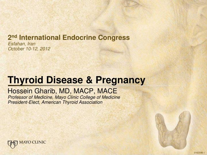 Thyroid disease pregnancy