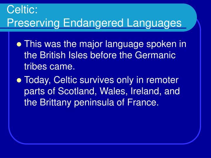 Celtic: