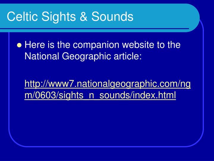 Celtic Sights & Sounds