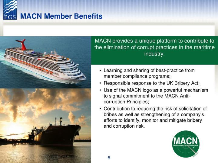 MACN Member Benefits