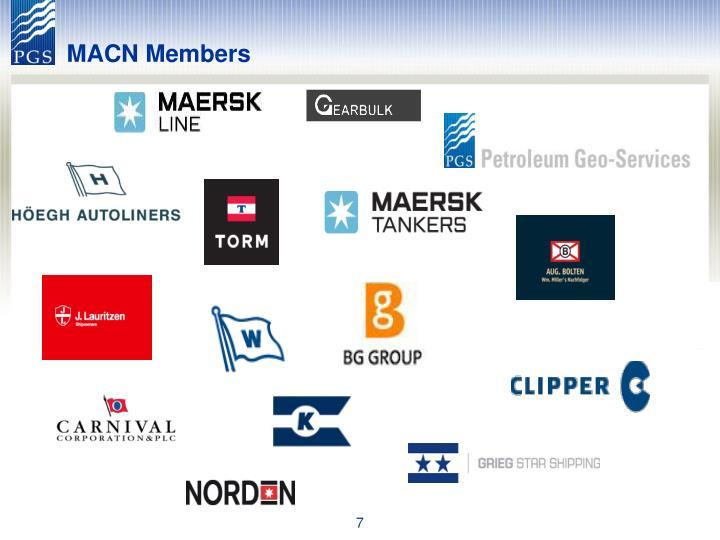 MACN Members
