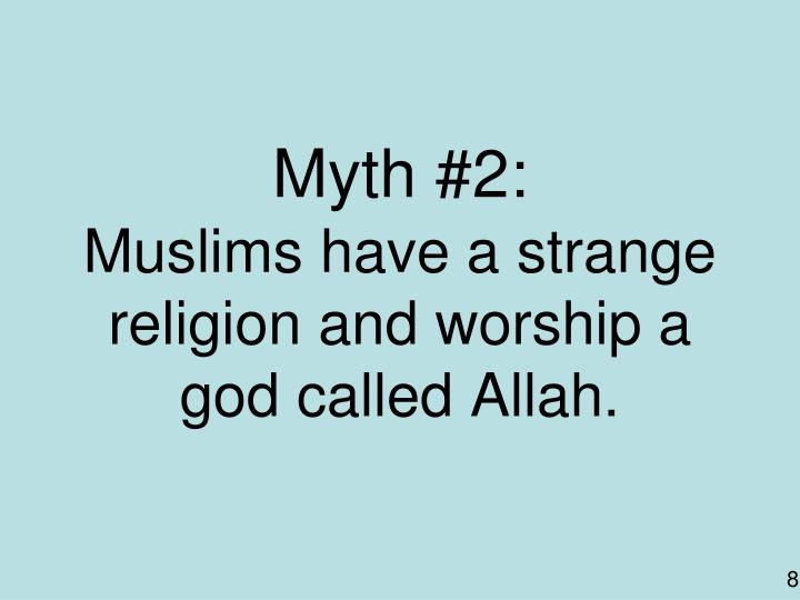 Myth #2: