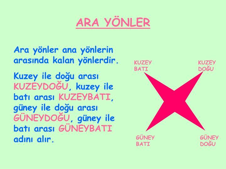 ARA YÖNLER
