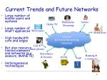 current trends and future networks