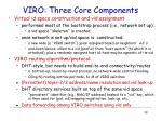 viro three core components