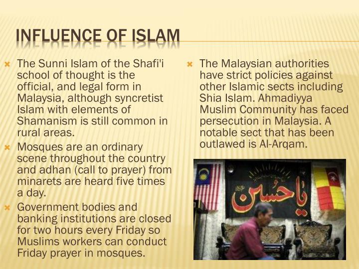 Influence of Islam