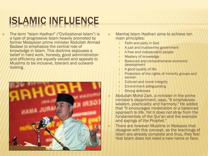 Islamic influence