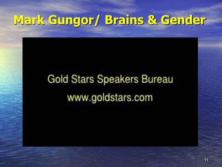 Mark Gungor/ Brains & Gender