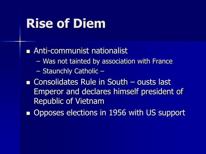 Rise of Diem