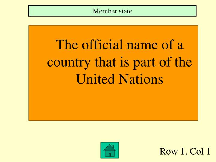 Member state