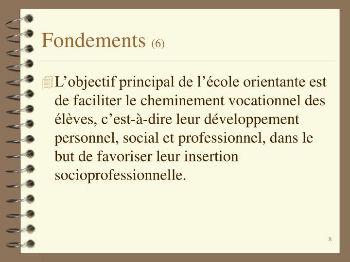 Fondements