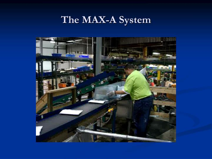 The MAX-A System