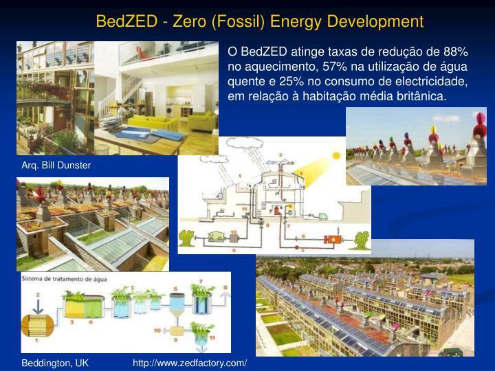 BedZED - Zero (Fossil) Energy Development