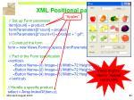 xml positional parameters
