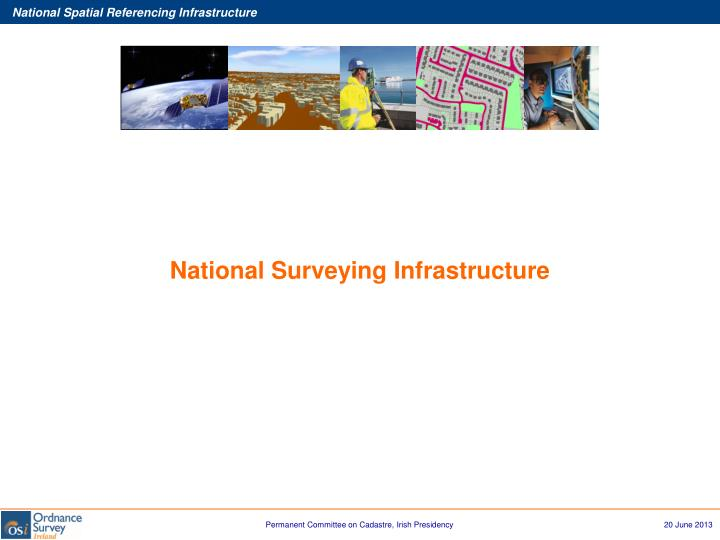National Surveying Infrastructure