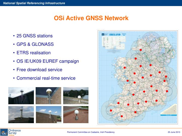 OSi Active GNSS Network