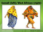 somali left west african right