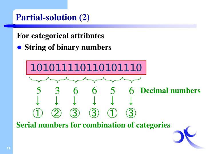 Partial-solution (2)
